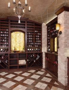 wine cellars, ramsey interiors